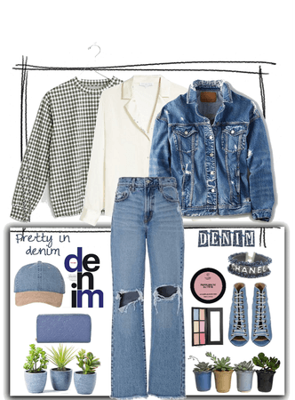Summer to Fall in Denim