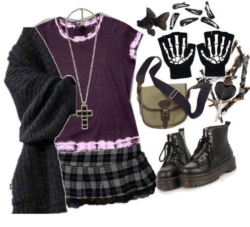 black cross necklace superiority