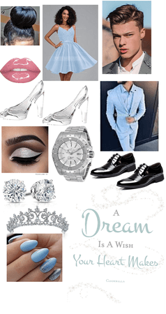 virtual prom-Cinderella theme