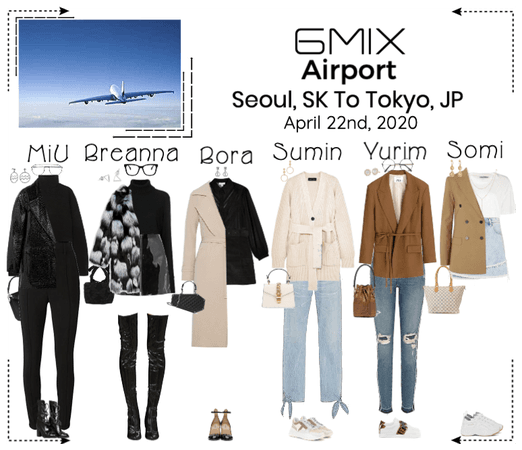 《6mix》Airport | Seoul. SK To Tokyo, JP