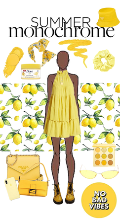 summer monochrome - yellow