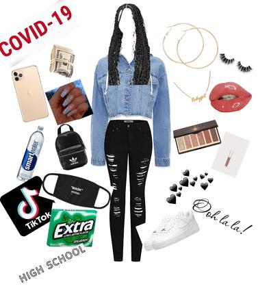 Back to school teen fashion