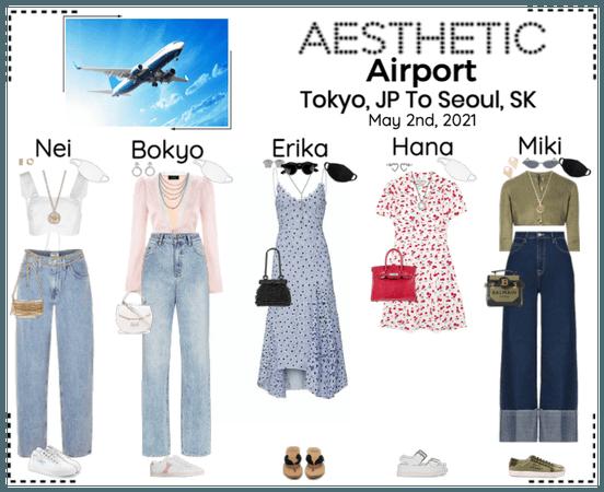 AESTHETIC (미적) [AIRPORT] Tokyo, JP To Seoul, SK