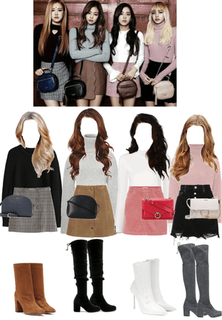 #BLACKPINK INSPIRED OUTFITS 2016 PHOTOSHOOT