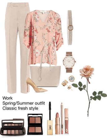 Work spring/summer 1