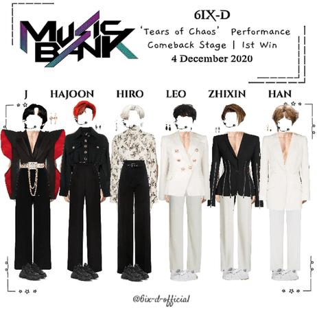 6IX-D [씩스띠] Music Bank 201204