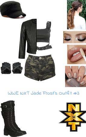 WWE NXT Jade Frost's Outfit #3