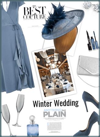 Winter Wedding/celebrating HAT day