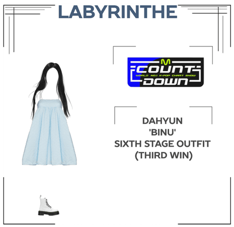 Dahyun 'binu' sixth stage outfit