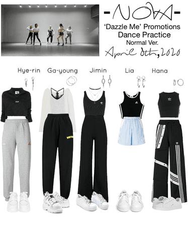 -NOVA- 'Dazzle Me' Dance Practice Normal Ver.