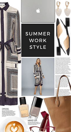 Summer dressing for the office