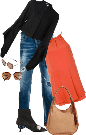 Chic date-look