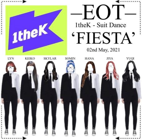 EOT (내일의황후) 1theK - Suit Dance'FIESTA'