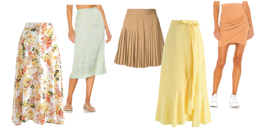 Romantic Style Outfit - Skirts