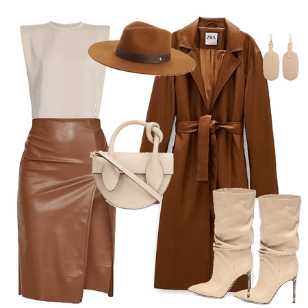 Classy in Brown