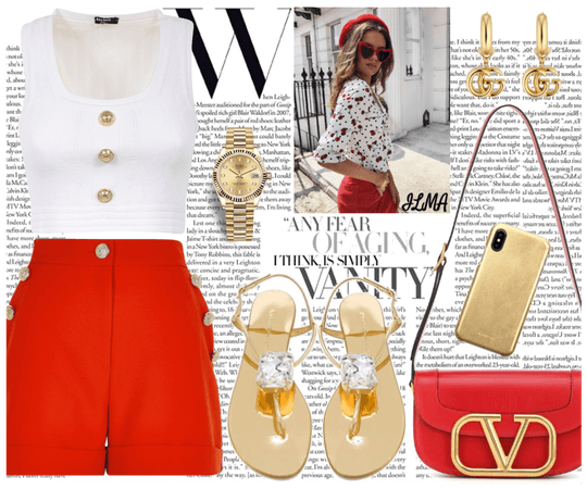 Red, White & Gold