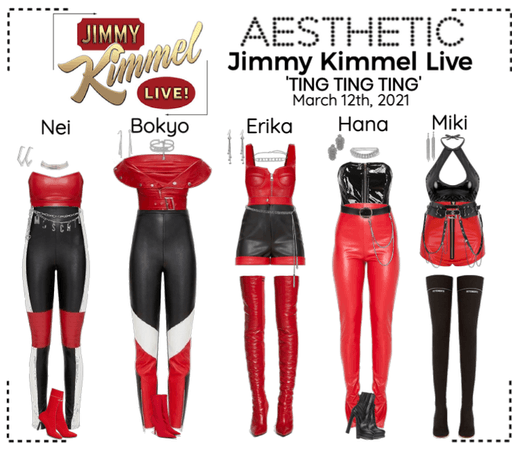 AESTHETIC (미적) [JIMMY KIMMEL LIVE]