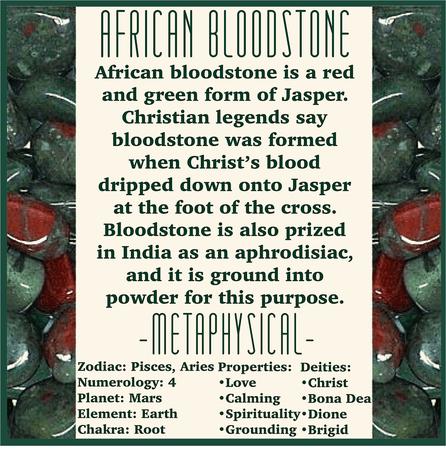 A GUIDE TO AFRICAN BLOODSTONE