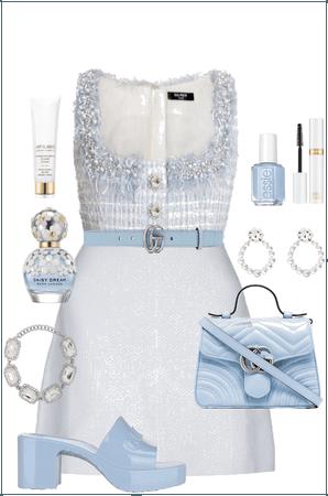 Blue outfit / Madelinee / @malikkowa