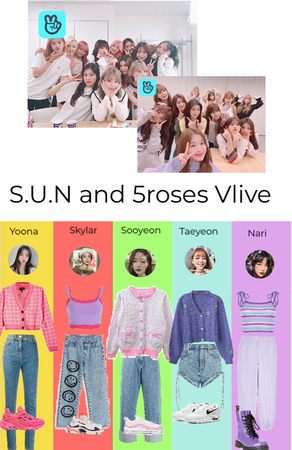 S.U.N and 5roses Vlive