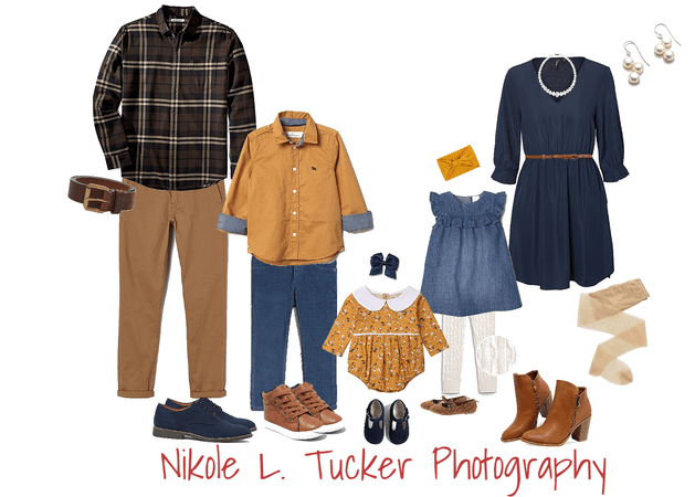 fall family photo styling
