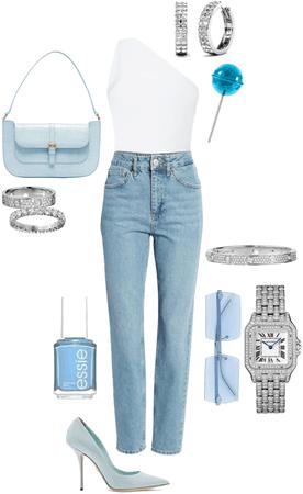 basic baby blue