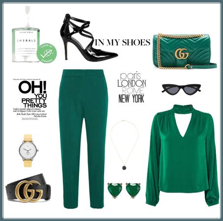 Gucci in Emerald