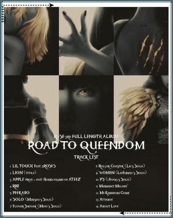 """{RoSE} """"Road to Queendom"""" Tracklist"""