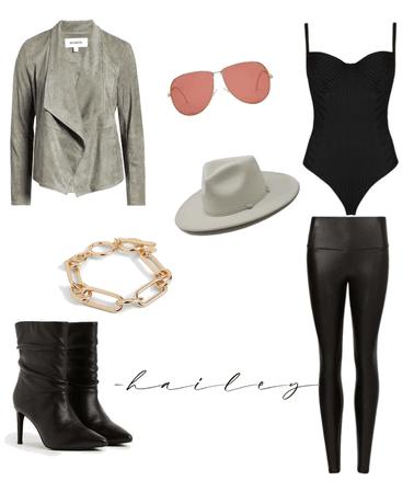 Casual Chic — Grey & Black