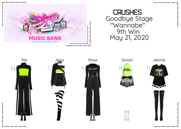 """Crushes (호감) """"Wannabe"""" Goodbye Stage 9th Win"""