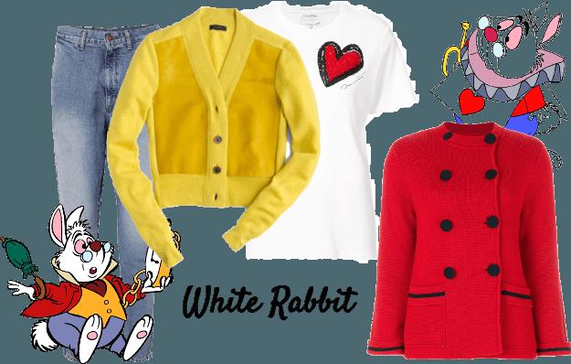 White Rabbit (Alice In Wonderland) Disneybound