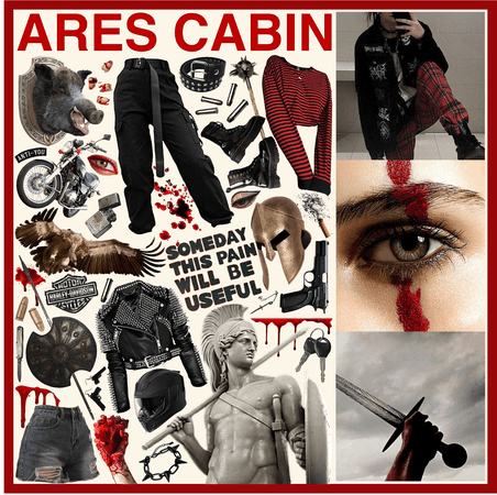 CAMP HALFBLOOD: Ares Cabin