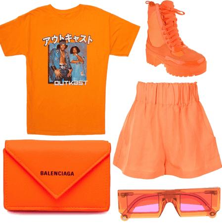 Orange street kid
