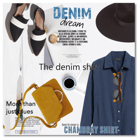 More than just blues: The Denim Shirt
