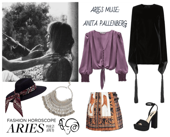 ARIES - Anita Pallenberg