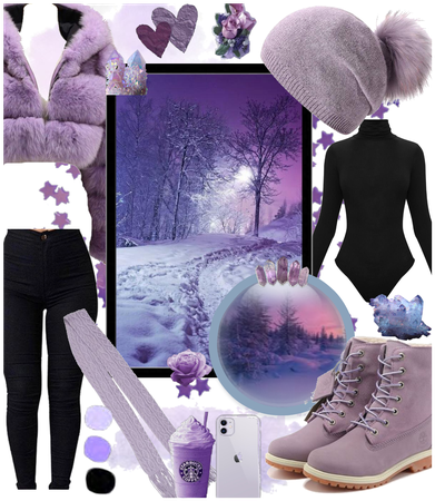 Purple WinterDreamer