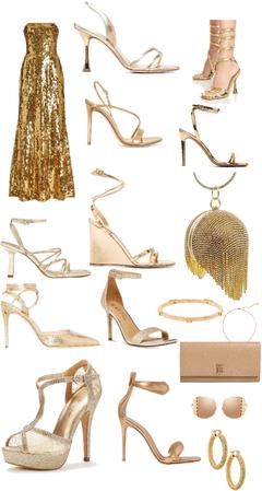 Gold girl