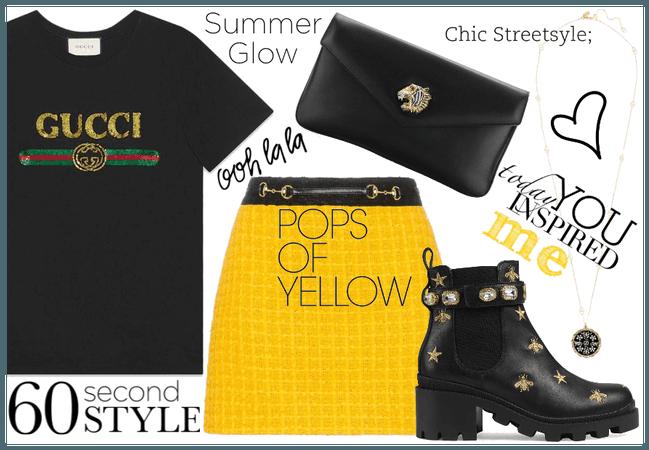 Gucci - black&yellow