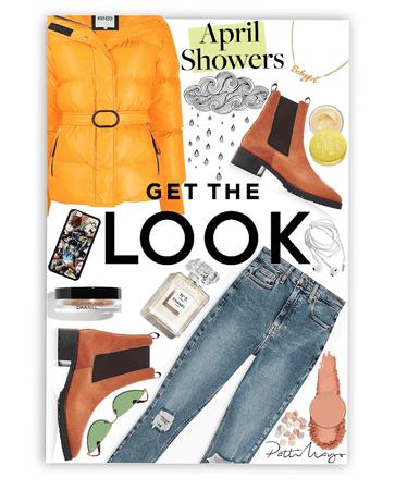 April Showers 👩🏾🦰