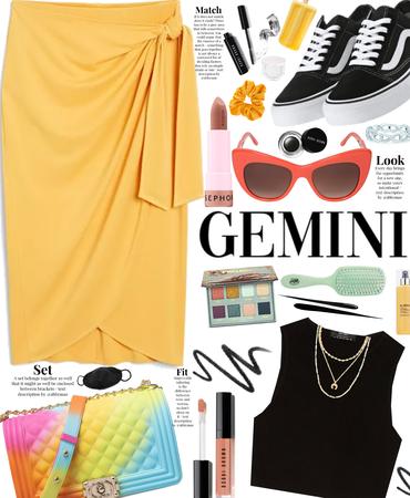 Gemini style 💛🖤