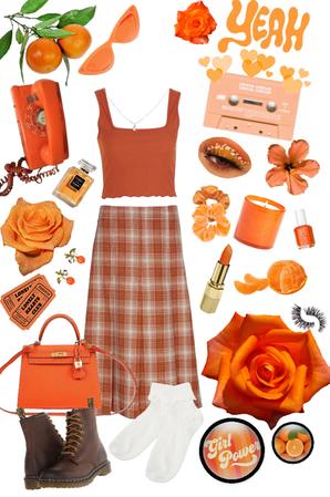 Orange Delight 🍊🧡💭