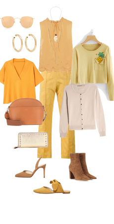 Spring woman wear to work outfit