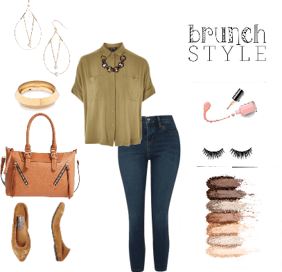 Brunch Style in Olive and Khaki