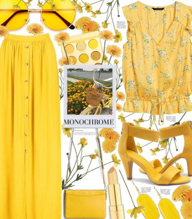 Monochrome yellow