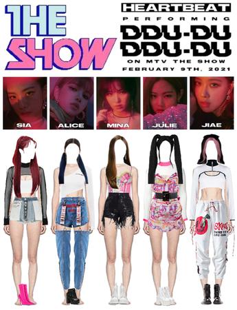 [HEARTBEAT] 20210209 MTV THE SHOW STAGE   '뚜두뚜두 (DDU-DU DDU-DU)'