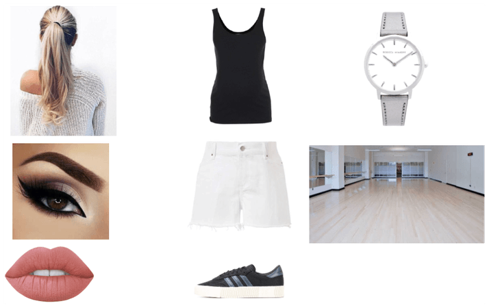 Skye's dance practise outfit for chapter 14