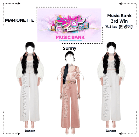 MARIONETTE (마리오네트) [MUSIC BANK] 'Adios (안녕히)'
