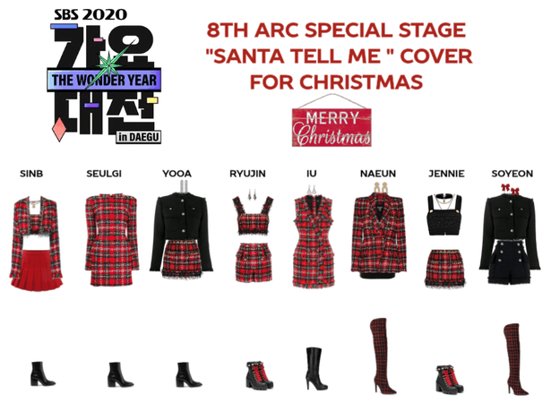 """8th Arc special stage """"SANTA TELL ME"""""""
