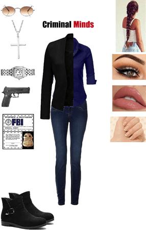 Criminal Minds Agent's Outfit