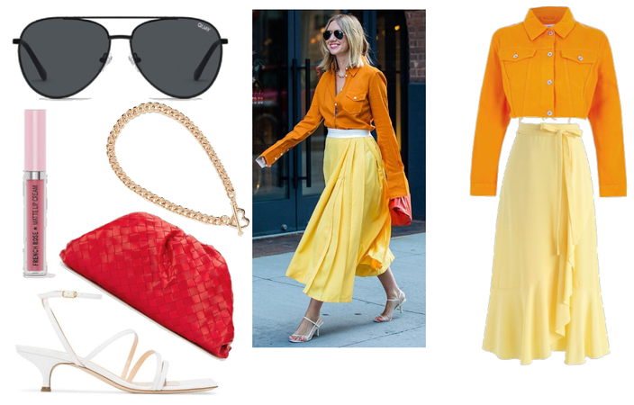 orange n yellow